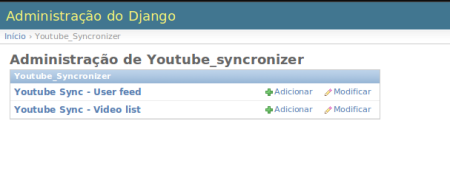 Youtube Syncronizer - Admin